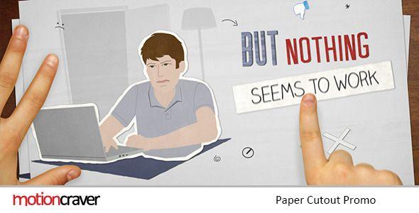 Paper Cut Out Promo