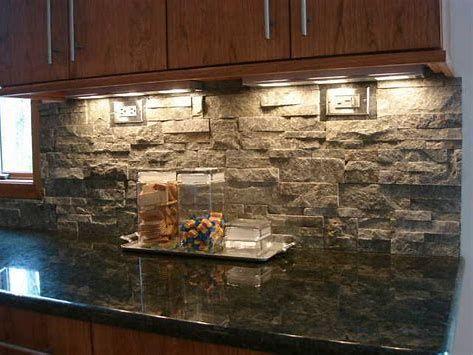 Image Result For Natural Stone Kitchen Backsplash Ideas