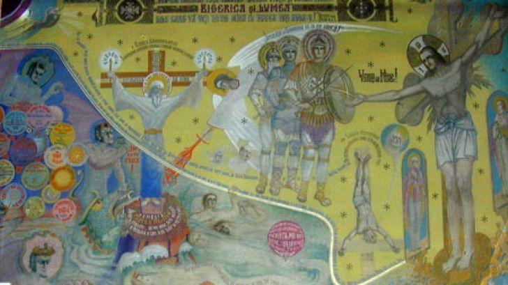 Pictura lui Arsenie Boca ce a prezis marile evenimente ale secolului XX