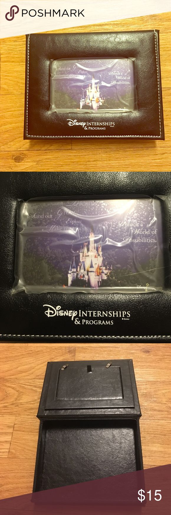 Disney College Program Keepsake Box Brand new. Plastic covering the glass is still attached. Disney Other