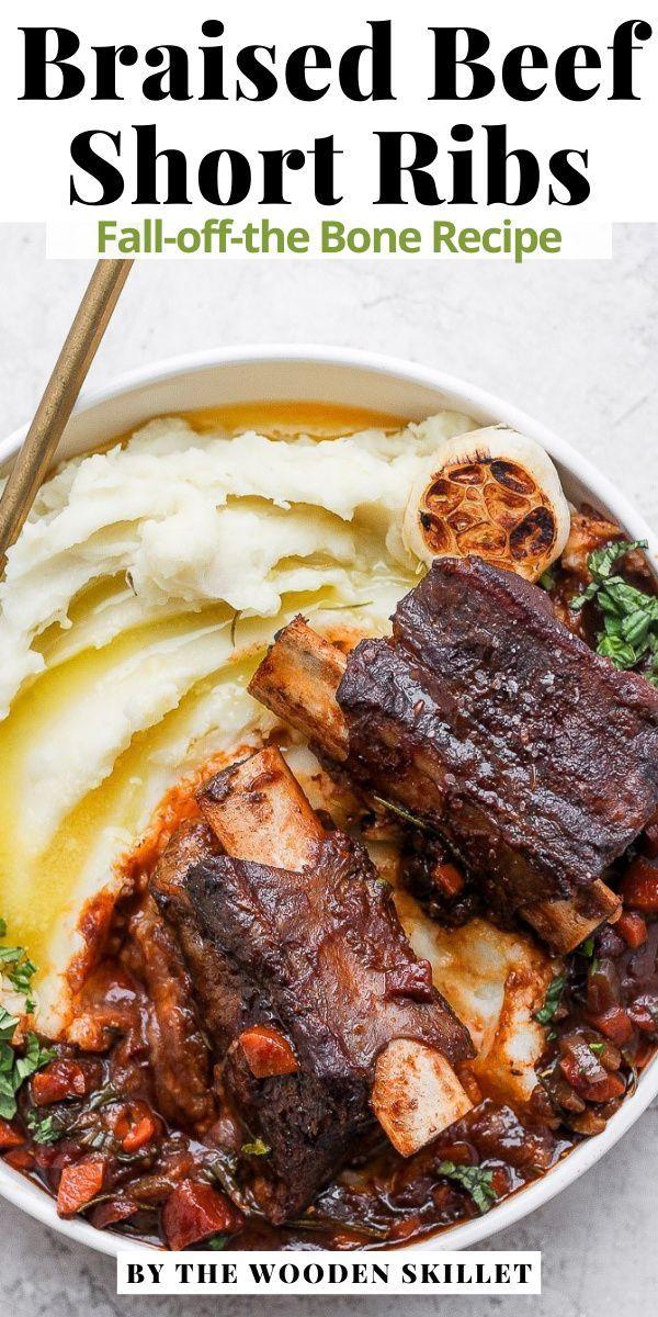 Braised Beef Short Ribs Recipe Healthy Beef Recipes Beef Short Ribs Beef Short Rib Recipes