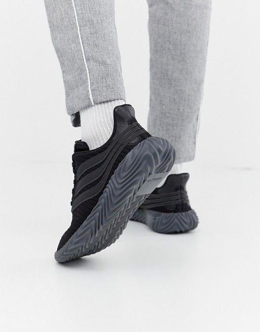 separation shoes 87ba7 010dc adidas Originals Sobakov Sneakers Triple Black