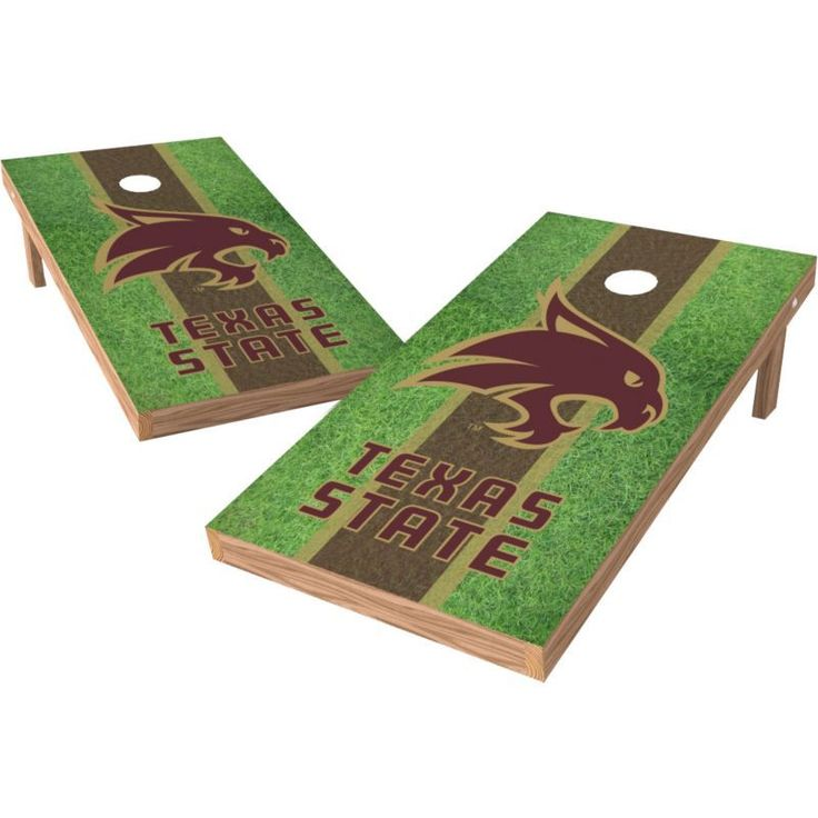 Wild Sports 2' x 4' Texas State Bobcats XL Tailgate Bean Bag Toss Shields
