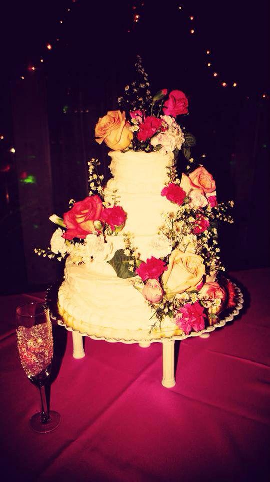 Cake wedding Vintage love