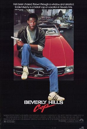 Beverly Hills Cop is a 1984 American action crime-comedy film directed by Martin Brest, written by Daniel Petrie, Jr. and starring Eddie Murphy as Axel Foley, a street-smart Detroit cop who heads to Beverly Hills, California to solve the murder of his best friend. Judge Reinhold, John Ashton, Ronny Cox, Lisa Eilbacher, Steven Berkoff and Jonathan Banks appear in supporting roles.