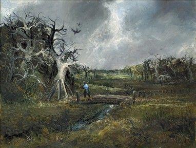 Arthur Boyd - The Bridge, Lysterfield (1959) - Sotheby's Australia | Find Lots Online