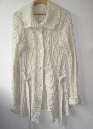 Kup mój przedmiot na #vintedpl http://www.vinted.pl/damska-odziez/dlugie-swetry/15156573-cieply-dzianinowy-sweter-cropp