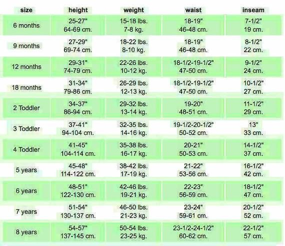 Majestic Prince Charming In 2021 Size Chart For Kids Baby Clothes Size Chart Baby Clothes Sizes