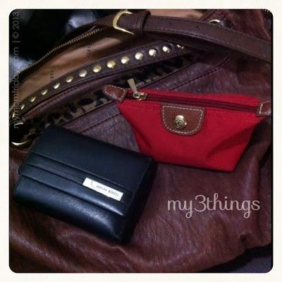 Vieta bag, Braun Buffel wallet, Longchamp coin purse