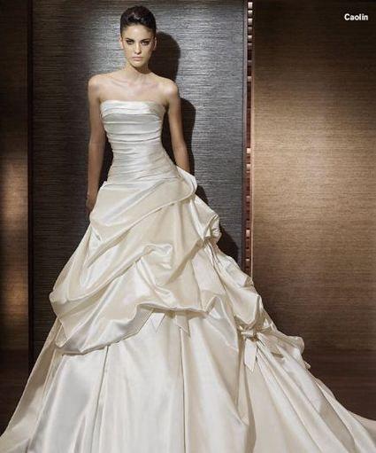 Robe de mariée san patrick+ voile+ jupon d'occasion