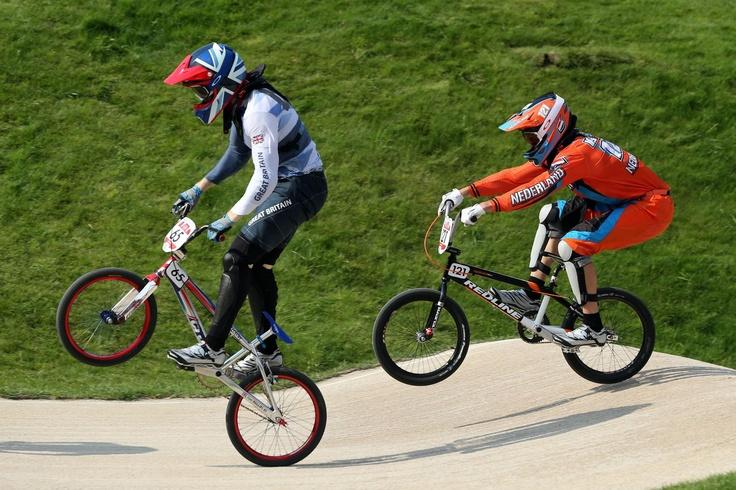 Day fourteen: Liam Phillips of Great Britain made the final of the BMX today, it was a fantastic effort from Liam.
