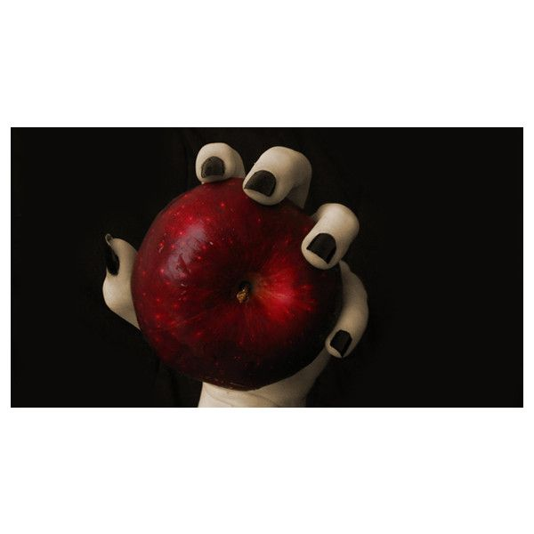Evil Witch Snow White Apple Facebook Cover ❤ liked on Polyvore