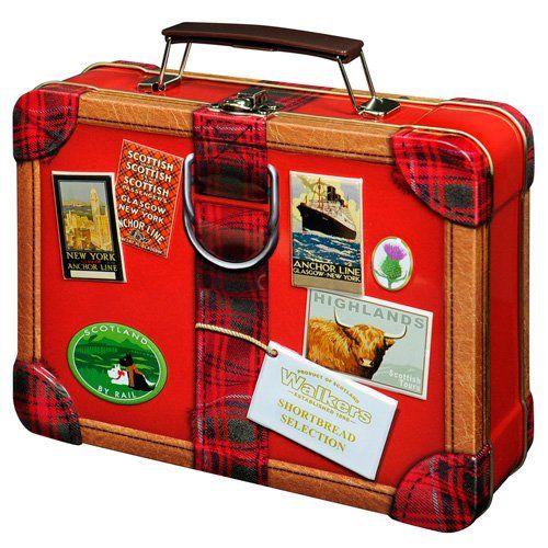 Walkers Mini Shortbread Koffer Geschenkdose 250 g