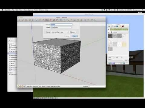 ArchiCAD Tip #19: Taking materials from SketchUp to ArchiCAD