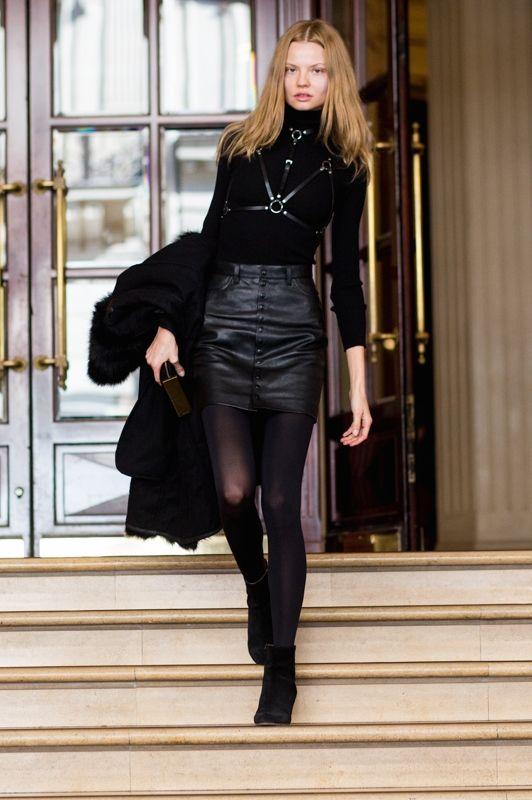 bonkers cool. #MagdalenaFrackowiak #offduty in Paris.