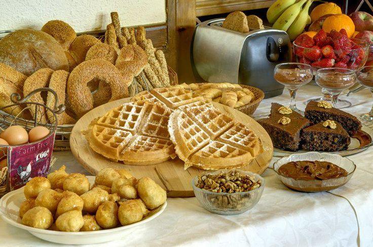 Greek breakfast from Portaria Pelion