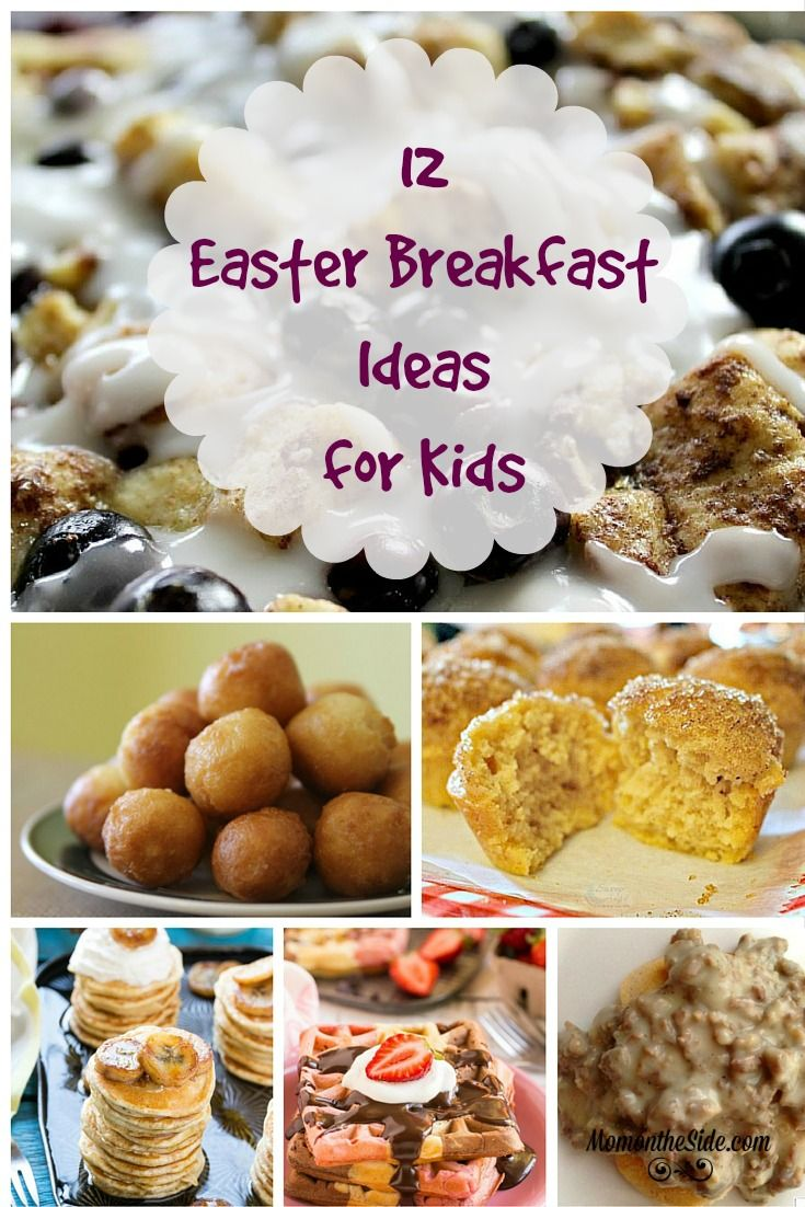 12 kids easter breakfast ideas to make you drool the o Fun easter brunch ideas