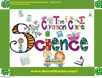 "FREE!! Cutest EVER PreK-3rd Common Core SCIENCE STANDARDS Posters with made-to-match Literacy & Math, Essential Questions & Social Studies posters also avail....Follow for Free ""too-neat-not-to-keep"" teaching tools & other fun stuff here- https://www.pinterest.com/rgarner1289"