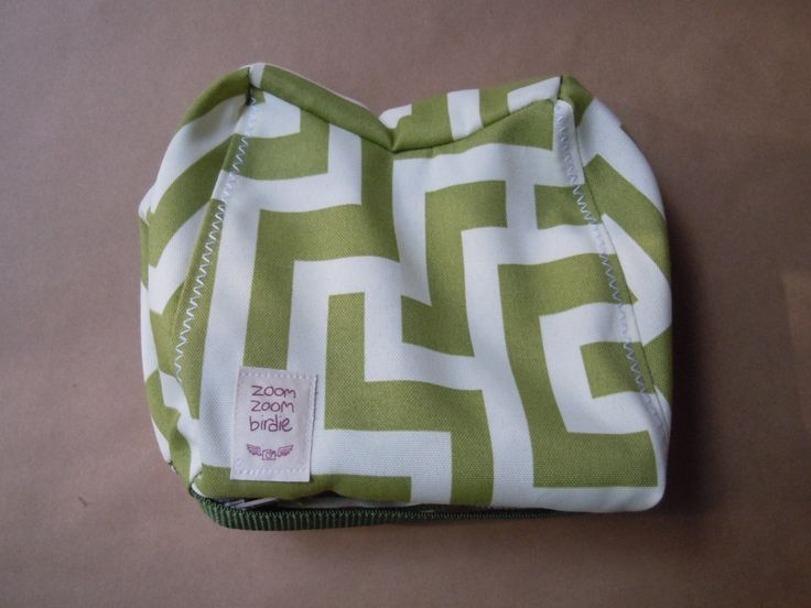 Contoured Camera Bean Bag, Tripod Weight, Stabilizer, Bean Pod - Green Maze by ZoomZoomBirdie on Etsy