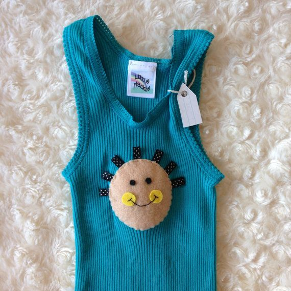 Happy Baby Singlet by LittleMackie on Etsy, $15.00
