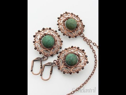 simple and stylish hand made wire jewelry | diy wire jewelry ideas