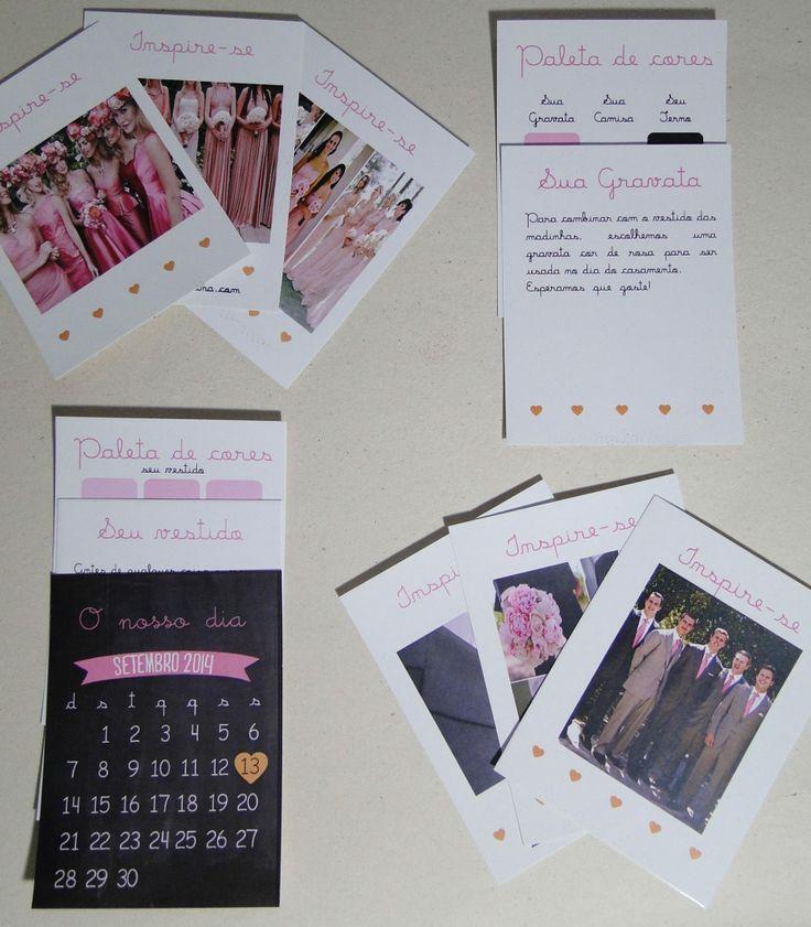 Convite para padrinhos - Pin adicionado do grupo bazar blog do casamento (facebook)