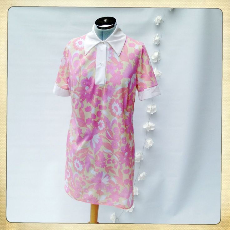 VINTAGE 1960s/70s Mod Shirt/Mini Dress Pyschedelic Flower Power Scooter Girl   #ebayshop #ebay #etsyshop #etsyfeaturesforyou #etsyvintage #sixties #60sfashion #60s #dollydress #mod #modette #60sdress #60sstyle #sellingvintage #vintagestyle #vintageblogger #vintagedress #vintageforsale #scooter #vintageshopping #vintageboutique #retro #retrofashion #styleblogger #musthave