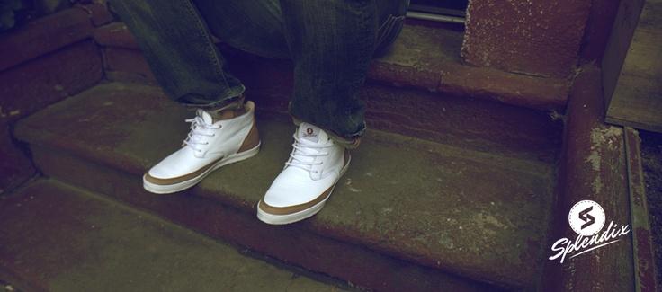 Splendix Desert White. Urban sneaker from Slovakia. Buy at: http://www.shooos.sk/znacka-obuvi/obuv-splendix/topanky-splendix-desert-white.html