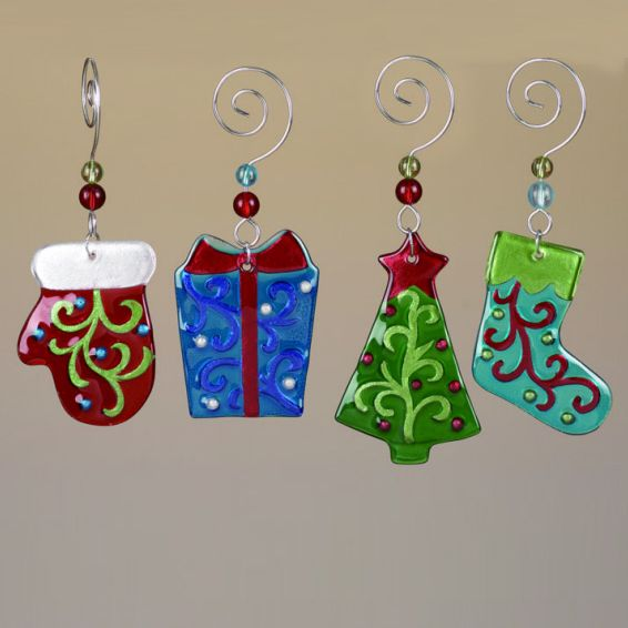 fused christmas ornaments | Christmas Items | Banker & Brisebois Advertising
