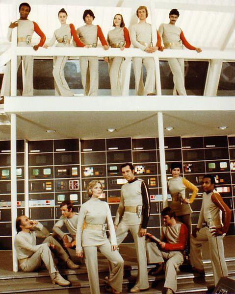 Space:1999 costumes by Rudi Gernreich.