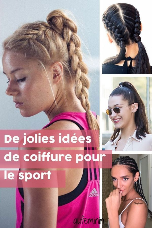 46++ Coiffure facile gym des idees