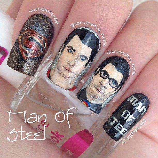 115 Best Cartoons Or Comics Nails Style Images On
