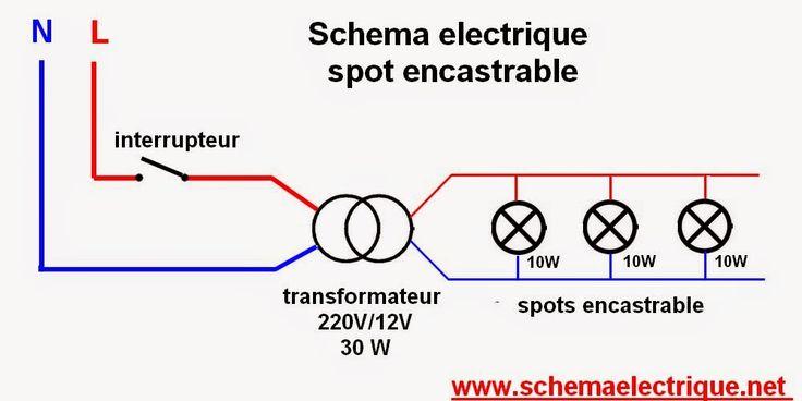17 best ideas about cablage on pinterest circuit electrique arduino pins a - Installer spot encastrable ...