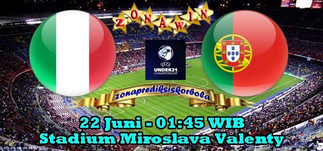 Prediksi Italia U21 vs Portugal U21 22 Juni 2015