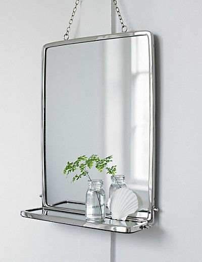 Hanging Bathroom Mirror M S Favorite Places Spaces Pinterest Bathroom Mirrors