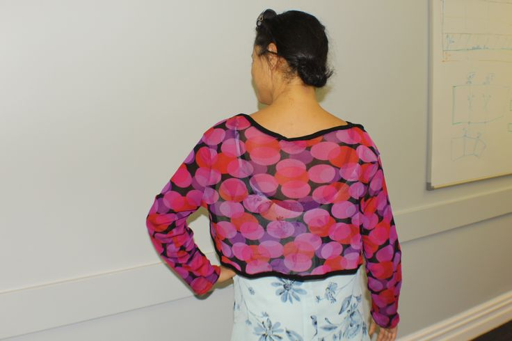 Download Pattern for cardigan-shawl