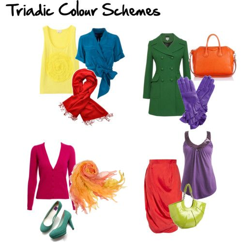 Triadic Color Scheme Examples 112 best color scheme examples in fashion images on pinterest