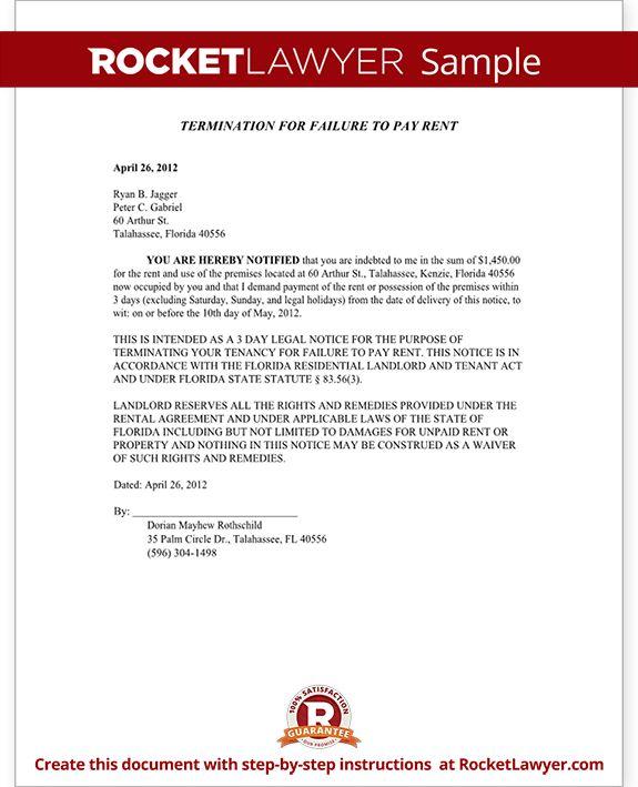 Florida Eviction Notice Form - Florida Eviction Notice Sample