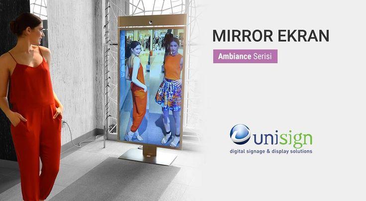 Yüksek görüntü kalitesine sahip, özel yansıma teknolojisi ile üretilen Mirror TV, kullanılmadığında zarif bir ayna iken kumandaya dokunuşla TV'ye dönüşebilmektedir.