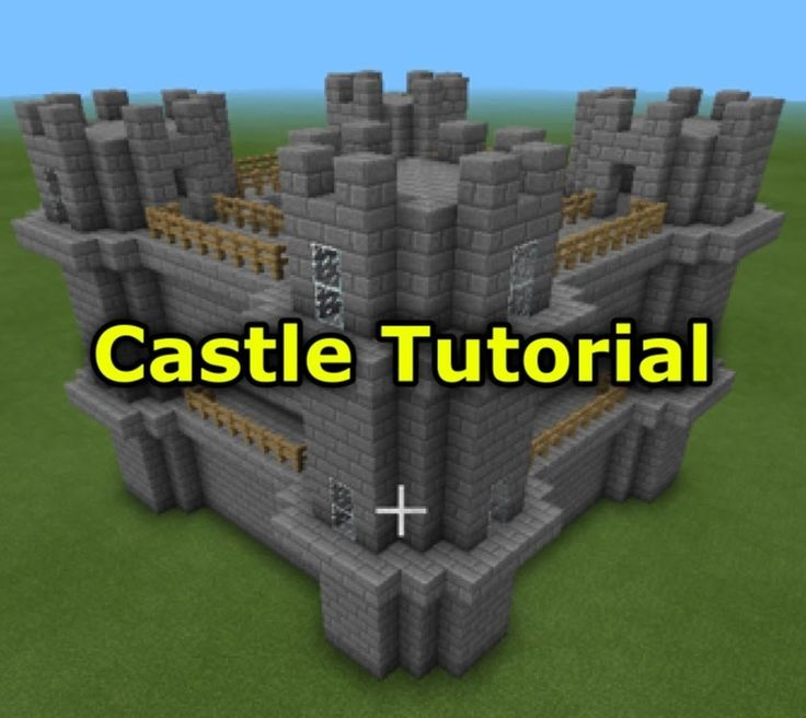 Minecraft Pocket Edition: How To Build A Castle!