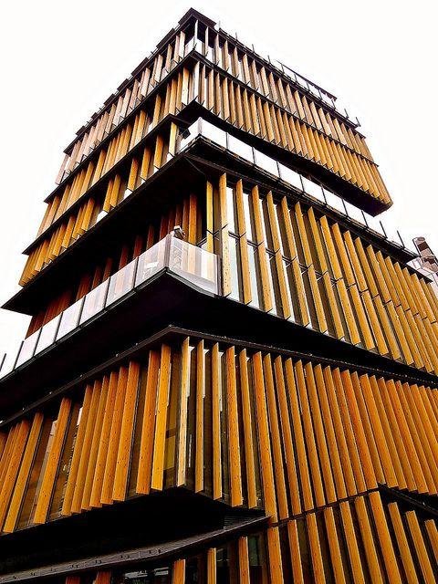 浅草文化観光センター, Asakusa Culture Tourist Information Center, Tokyo, Japan by Ken Lee 2010, via Flickr