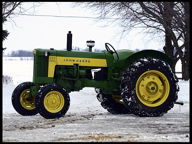 Tractor Pto Dynamometer : John deere d saw one on