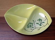 Carlton Ware Australian Design Magnolia Divided Dish 13.00 inches by 9.50 inches