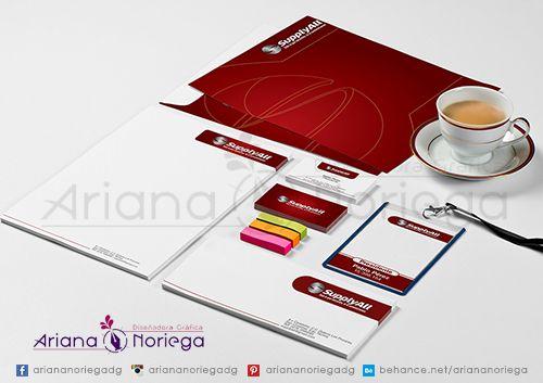Propuesta de Diseño de Papelería Corporativa para la empresa Supply All, Tachira, Venezuela