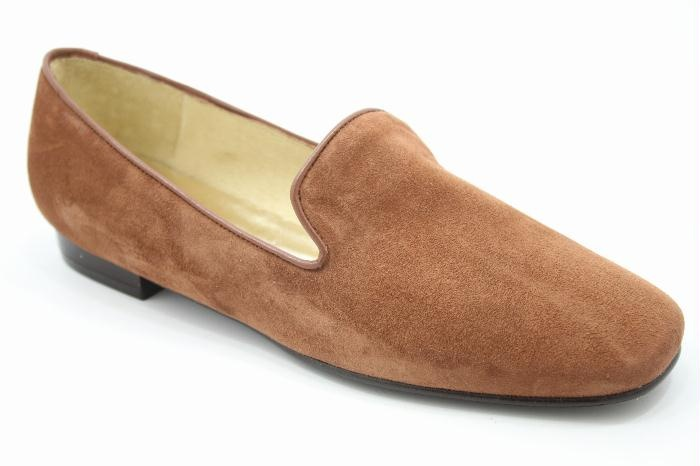 Warmer Brown Suede Loafer $117.29