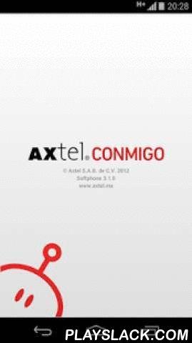 AXTEL Conmigo  Android App - playslack.com , AXTEL es la primer compañía en México que permite utilizar tu línea telefónica de tu casa o negocio en tu dispositivo Android. El AXTEL Softphone es una aplicación que utiliza el protocolo SIP, compatible con múltiples servicios de VoIP en el mundo, para hacer y recibir llamadas de voz a través de tu conexión de Internet. Si eres cliente de AXTEL en México, activa tu servicio AXTEL Conmigo para llevar tu Línea a cualquier parte del mundo en tu…