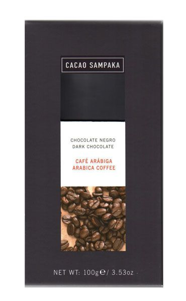 C Sampaka 100g. Ciocolata neagra cu Cafea Arabica