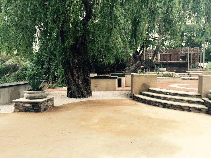 Oxbow wedding venue / boma area