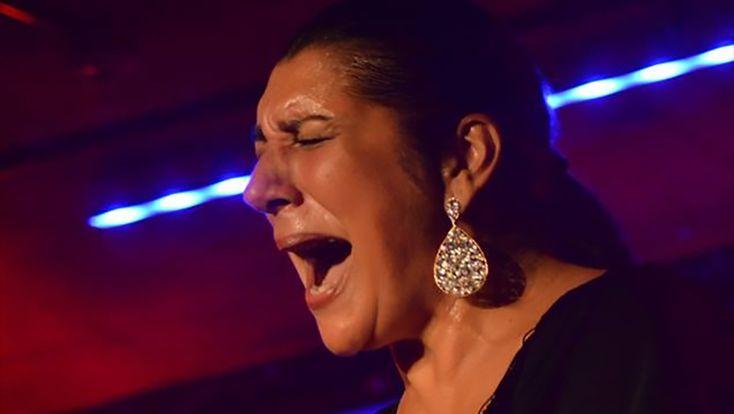 El cante flamenco de Remedios Amaya en la cámara de Jimmy Brody