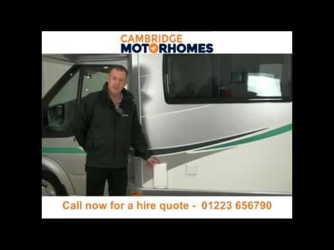 Motorhome hire and campervan rental Cambridge - Call 01223 656790